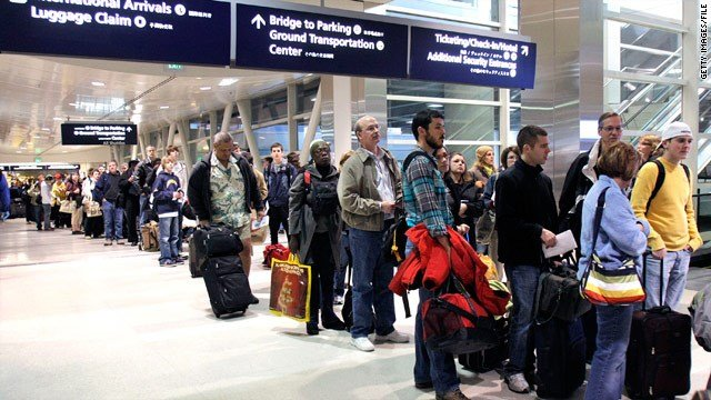 Airlines are preparing for a record 51-million passengers for the holiday season, a 3.5-percent increase from 2016. (CNN)