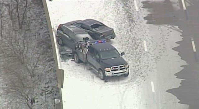 The crash happened on I-435 near Missouri Route 45. (KCTV5)