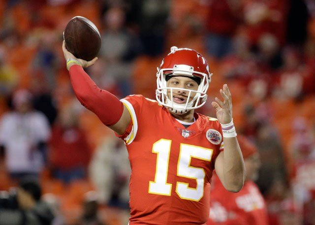 The Kansas City Chiefs are taking the bubble wrap off rookie QB Patrick Mahomes II in their regular-season finale at Denver. (AP)