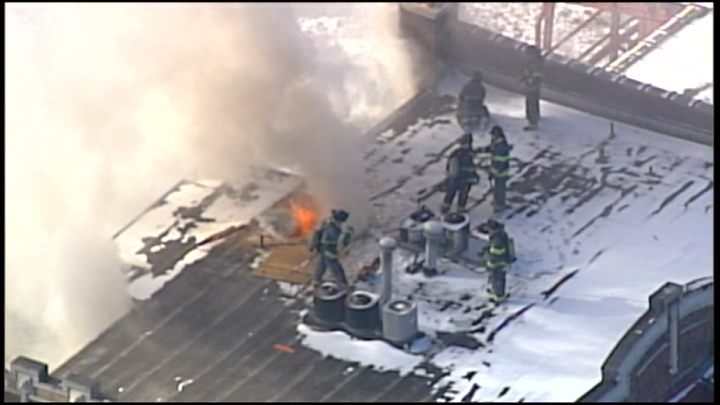 File photo of fire at 30th and Indiana. (KCTV)