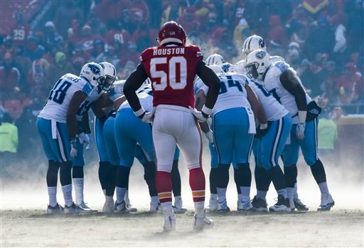 Chiefs to host Titans for AFC Wild Card Game