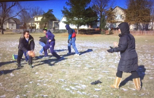 It is a tradition 40 years in the making, and a Lee's Summit family wasn't about to let Mother Nature on Monday stand in the way of hitting an impressive mark. (Amy Anderson/KCTV5 News)