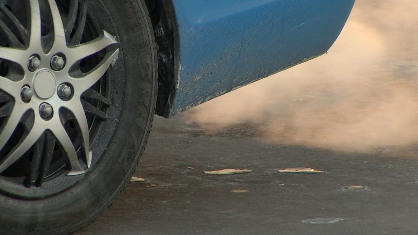 No one likes to get into a cold car on a frigid winter morning. Many leave it idling, to get it toasty warm. (KCTV5)