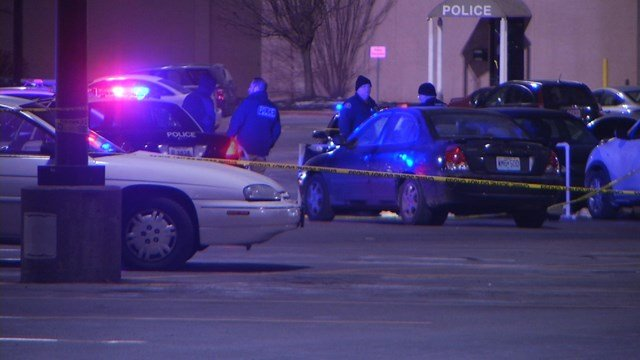 The shooting happened at about 8:32 p.m. in a mall parking lot located at 18801 East 39th Street. (KCTV5)