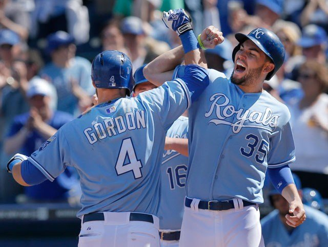 On Wednesday, the USA Today reported that Eric Hosmer has, in fact, received an offer from the Royals for seven years, $147 million, sending mixed shock waves throughout Kansas City and the baseball industry. (AP)