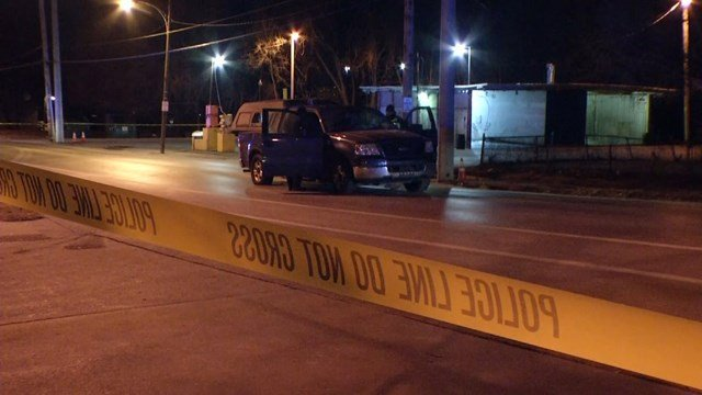Officers say a man in his mid-50's was found shot and killed inside a truck in the area. (KCTV5)