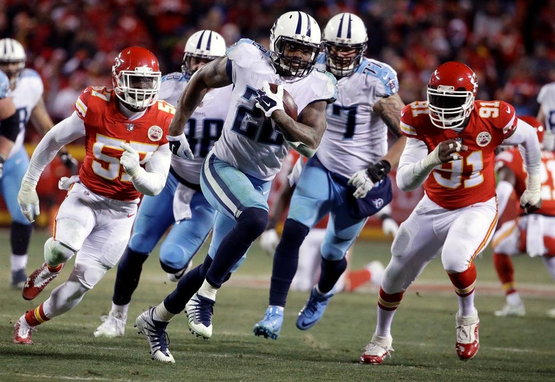 Kansas City came into Saturday's AFC Wild Card matchup with the Tennessee Titans as and 8.5-point favorite and left defeated, dropping the game 22-21. (AP)