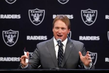 Why Jon Gruden is looking forward to working with Raiders' Derek Carr