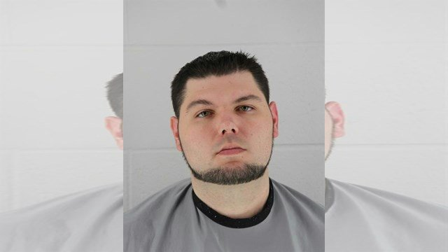 Nathan Alt, 31, of Kansas City, KS, was arrested on Wednesday at about 2:32 p.m. (Johnson County Detention Center)
