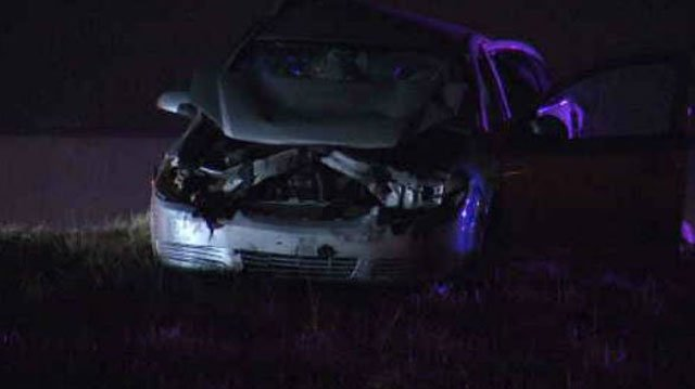 A woman has died following a wreck on southbound Interstate 35 and 119th Street in Johnson County, KS. (KCTV5)