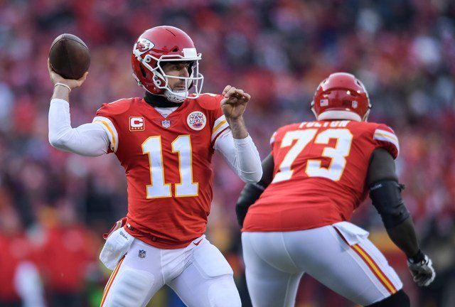 Chiefs QB Smith named to Pro Bowl squad, replaces Chargers' Rivers
