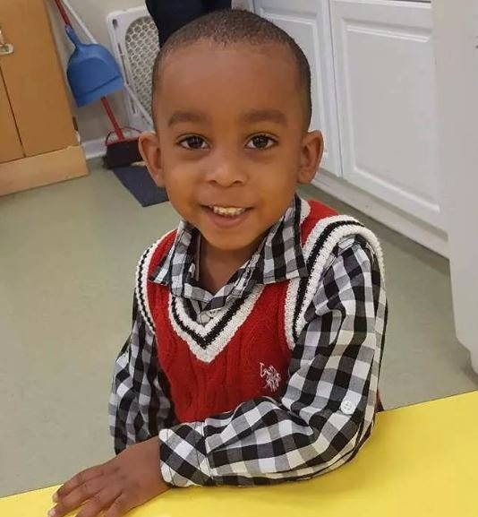 Marcus Haislip, 3, was shot and killed on Friday in a car. Two others were also hurt. (Family)