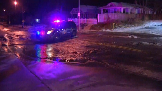 KC Water officials say a 12-inch main broke in the area. (KCTV5)