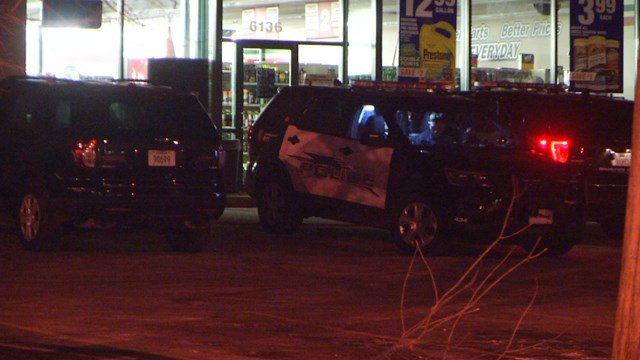 Officers responded to an armed robbery call at about 9:40 p.m. at the O'Reilly Auto Parts located at 6136 Nieman Road. (KCTV5)