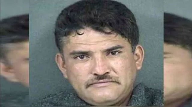 The lawsuit filed Monday in Kansas City, KS claims Immigration and Customs Enforcement agents had two chances to detain and deport 42-year-old Pablo Serrano-Vitorino before March 2016, when four men were killed in Kansas and one in Missouri. (KCKPD)