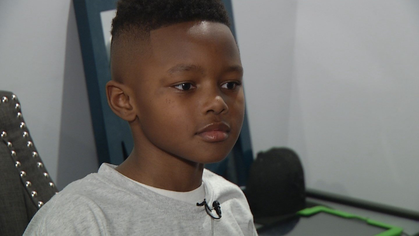 Kaleb Smith decided to share his love of remote control cars with kids who cannot afford them. (KCTV5)
