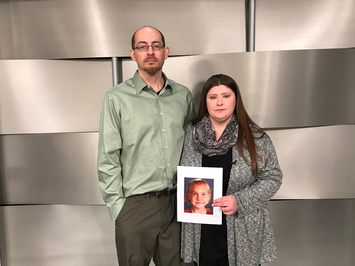 Lisa's parents, Deborah Bradley and Jeremy Irwin, released a new age-progressed picture of their daughter hoping it may lead to the long-awaited break in the case. (Angie Ricono/KCTV5 News)