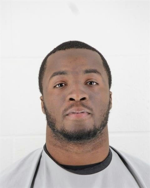 Kevin Pierre-Louis, linebacker for the Kansas City Chiefs, was arrested on Thursday night for several charges, including misdemeanor possession of marijuana.(Johnson County Sheriff's Office)