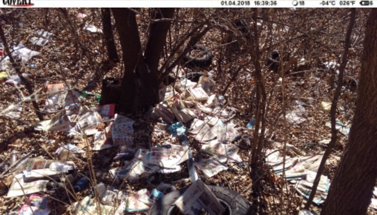 Ashurst says there was mail addressed to residents, advertisements and fliers sprawled around the area where people commonly dump items. (KCMO)