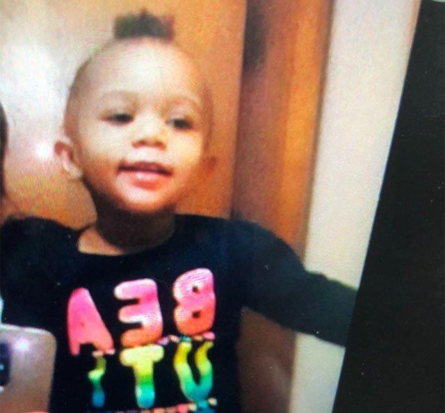 One-year-old Shamya Reed is now safe. (@KCKPD)