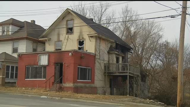 An early morning house fire injured three firefighters after the second floor of a burning home collapsed. (KCTV5)