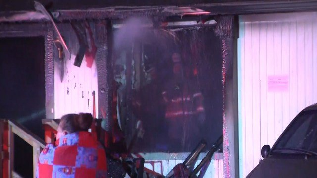 Multiple residents suffered minor injuries as a result of the fire. (KCTV5)