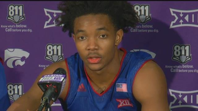 Devonte Graham added 16 points in the win. (KCTV5)