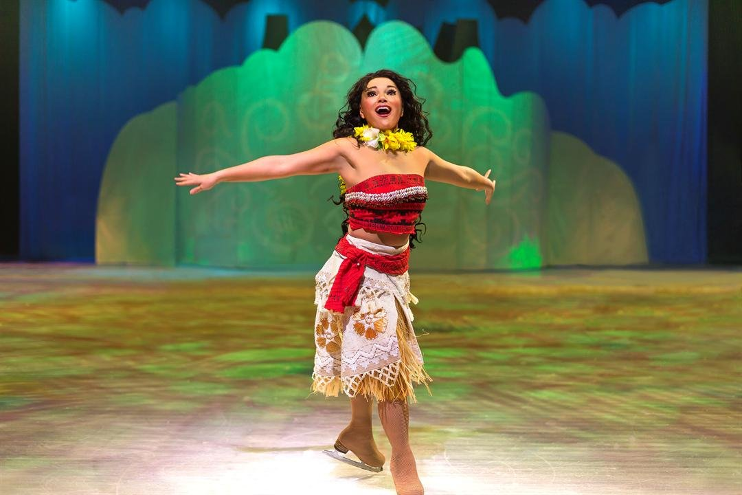All the Disney favorites will join Moana in March as she voyages onto the ice for the first time in Kansas City. (Page Communications)