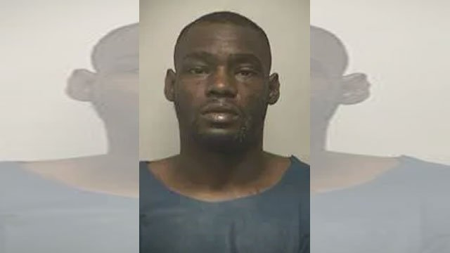 The Marshals service says Larence Garth,33, was taken into custody by authorities at a residence in Kansas City on a CrimeStoppers tip. (U.S. Marshals Office)