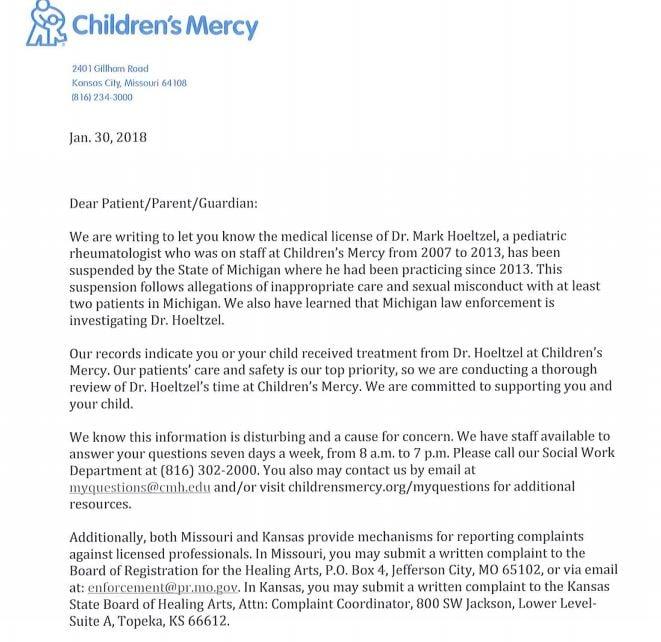 (Children's Mercy Hospital)
