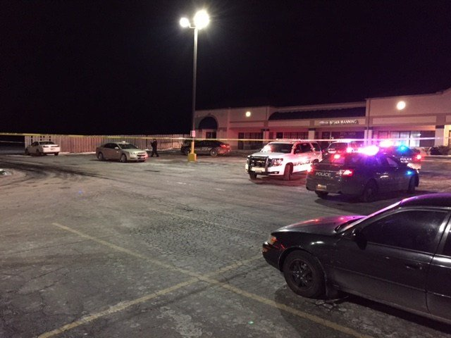 The shooting happened just before 9:30 p.m. in the 17700 block of US 40 Highway.(Kimo Hood/KCTV5)
