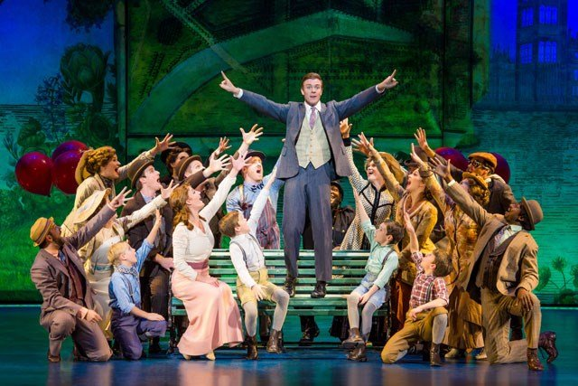 The cast of the national tour of 'Finding Neverland.' (Credit: Jeremy Daniel)