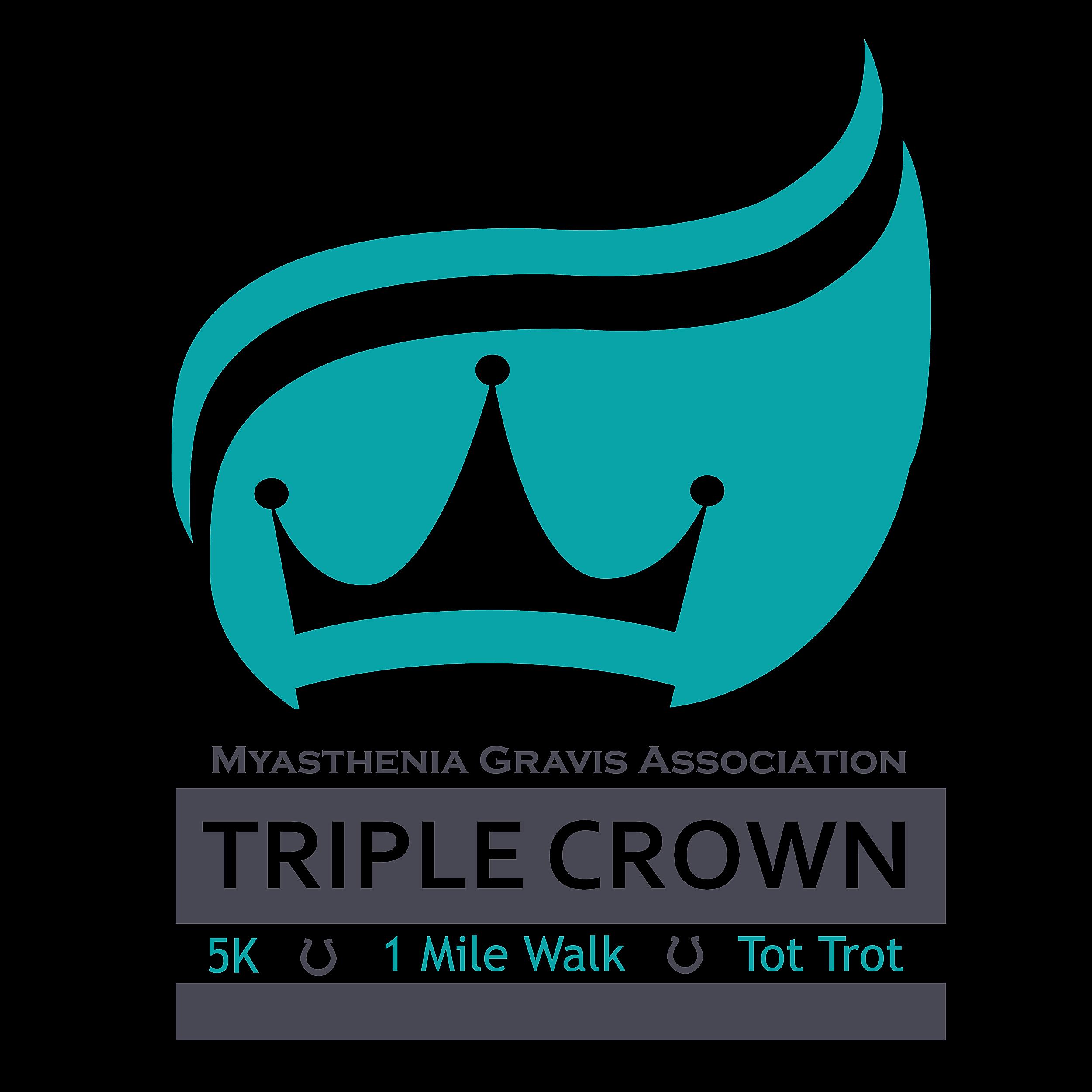The MGA Triple Crown Showdown 5K Run/Walk, Mile Mosey and Tot Trot benefits those impacted with myasthenia gravis living in the Heartland. (MGA Triple Crown Showdown)
