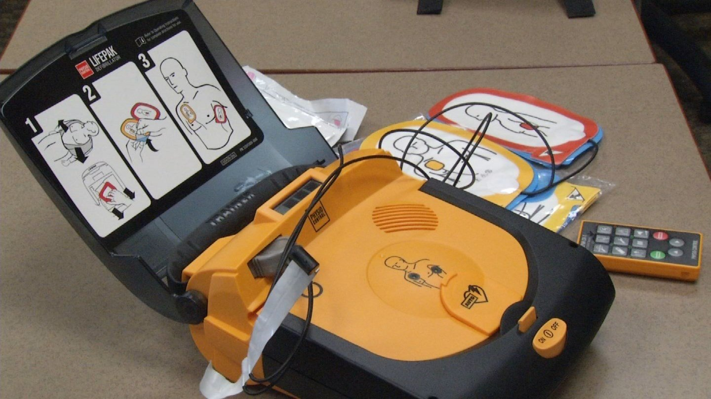 KCTV5 News is looking into the lack of requirements for life-saving AED machines in your child's school. (KCTV5)