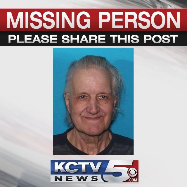 Victor Hudgins, 70, was last seen at 6 a.m. Tuesday near 110th Street and Elmwood Avenue. (KCTV5)