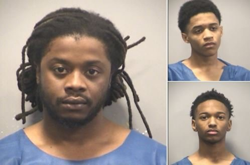 Police arrested 27-year-old Christin Sirls and 17-year-old Markquinn Jones and Josie Jefferson.