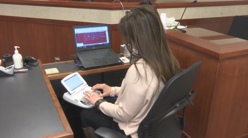 Throughout the court system in both Kansas and Missouri there is a shortage of at least 28 court reporters, and that can put a strain on the justice system. (Kelli Taylor/KCTV5 News)
