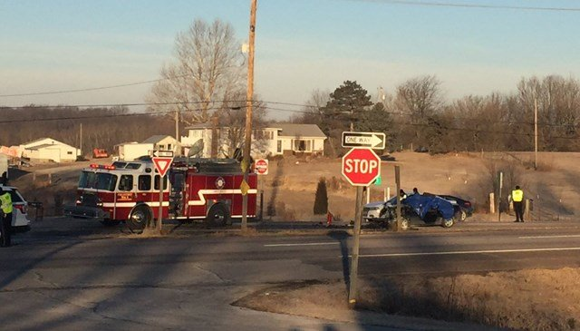 Authorities say one person has died after an accident on Kansas Highway 7.  The crash happened about 6:40 a.m. near Marxen Road. (KCTV5)