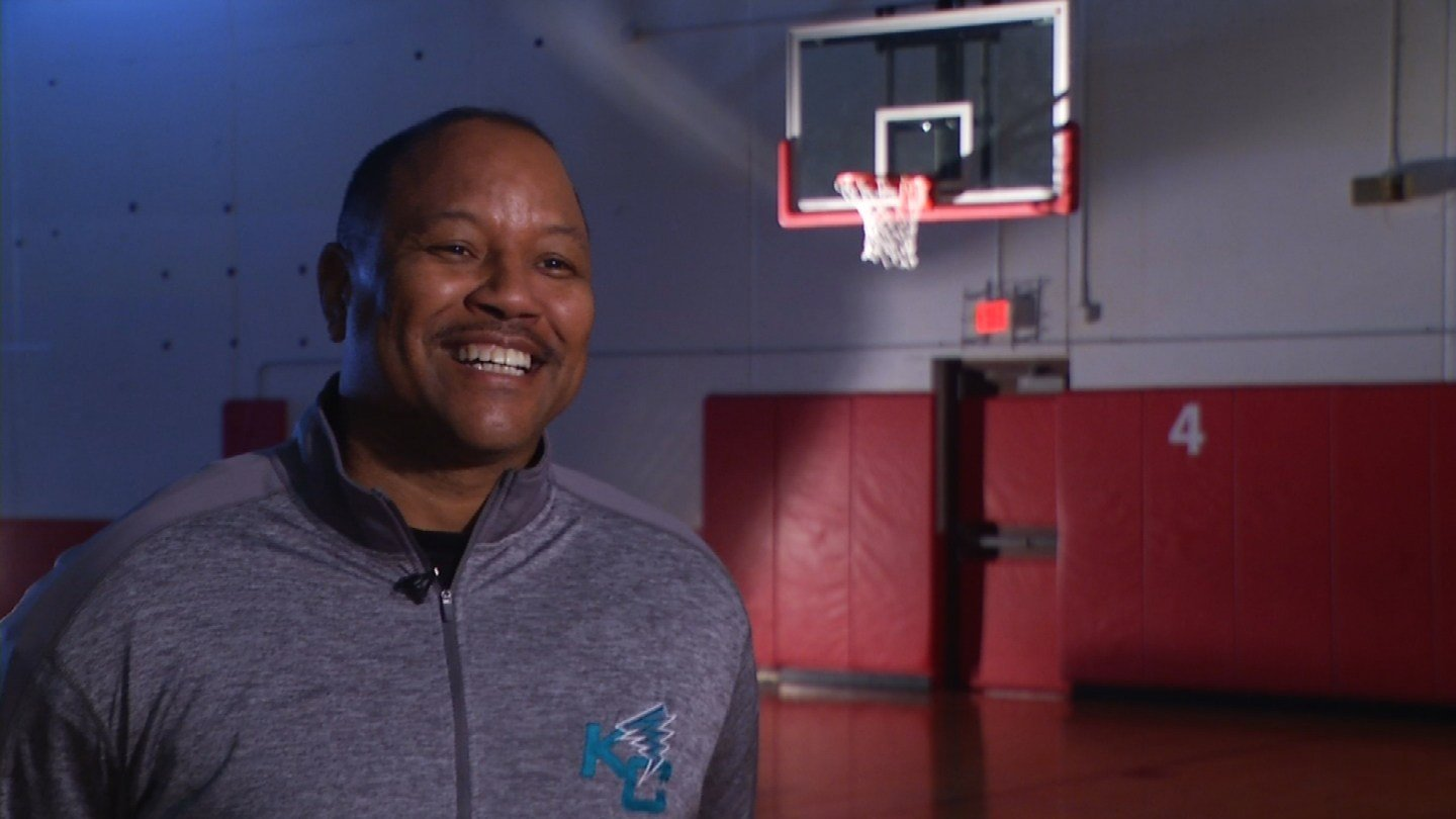 Ed Corporal's story begins where he feels most comfortable -- on a basketball court. (KCTV5)