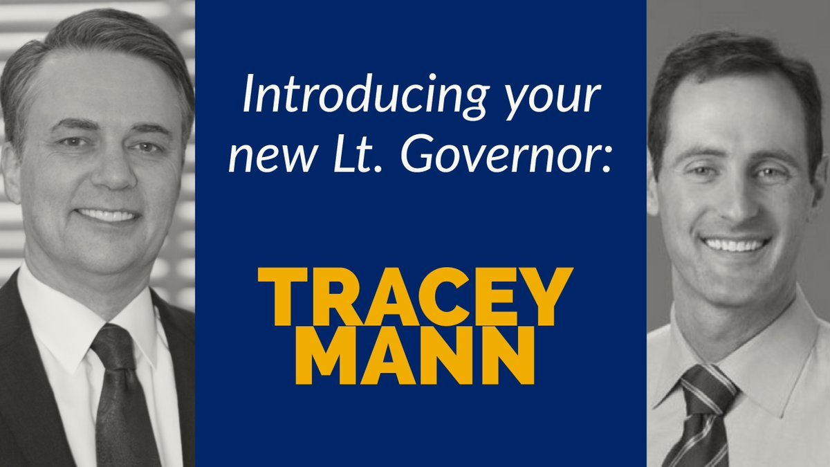 Colyer announces Tracey Mann as new Lieutenant Governor