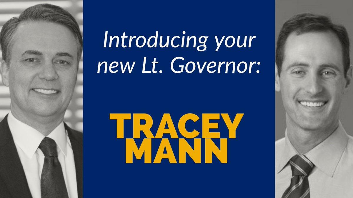 KansasGov. JeffColyerhas pickedTraceyMannto serve as the state's nextlieutenantgovernor. (Jeff Colyer)