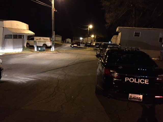 The shooting happened at about 11:08 p.m. at the Midwest Mobile Home Park, located in the 12800 block of E 47th Street. (Kimo Hood/KCTV5)