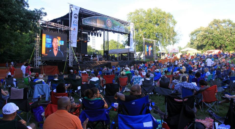 For the first time in 28 years, the Overland Park South Rotary Club says they have suspended this year's Jazz in the Woods event due to funding restrictions. (Jazz in the Woods/Facebook)
