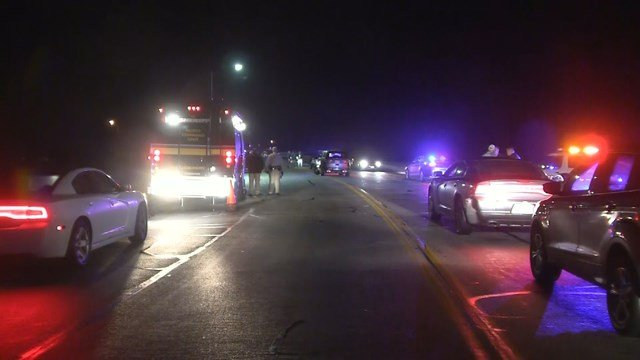 Two Missouri State Highway Patrol troopers were working a traffic stop at the 170 mile marker, at the time, and were able to stop the vehicle using stop sticks. (KCTV5)