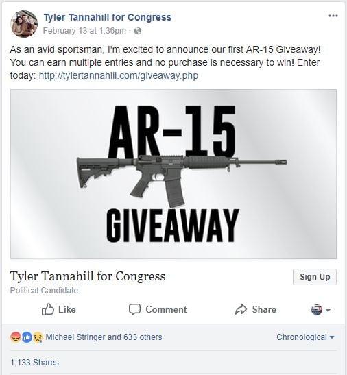 (Screenshot of the Facebook post)