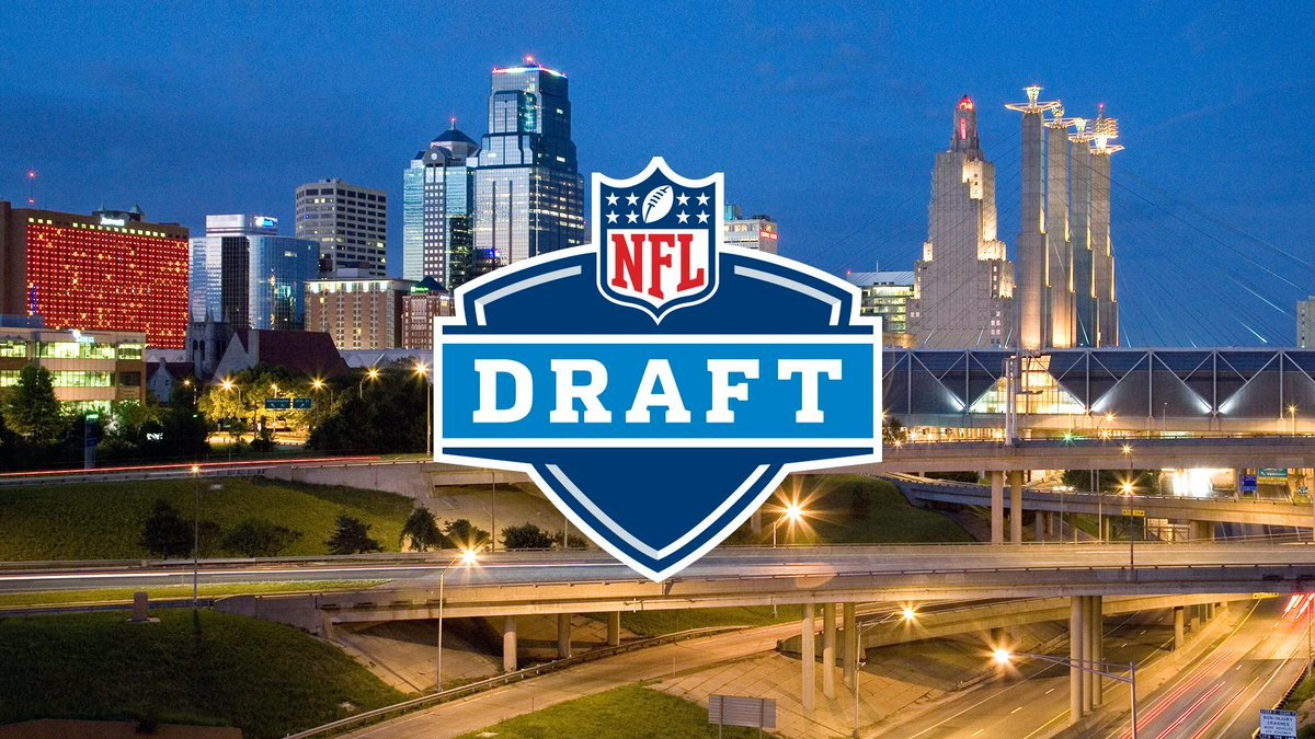 Kansas City has been chosen as one of the fivefinalists to host the NFLDraft in either 2019 or 2020. (Kansas City Chiefs/Twitter)