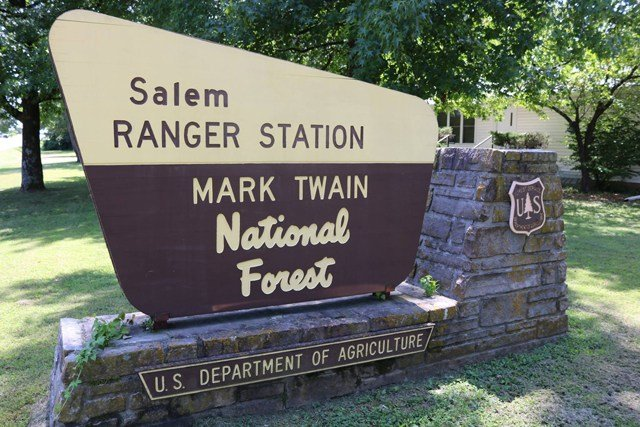Authorities are fighting a fire that has burned about 500 acres in the Mark Twain National Forest. (Facebook/U.S. Forest Service - Mark Twain National Forest)