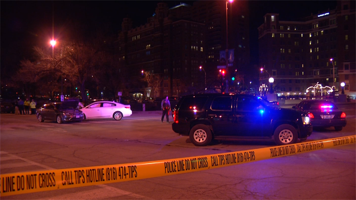 Nine people, including a toddler and an infant, were transported to the hospital with serious but not life-threatening injuries on the Plaza. (Dwain Crispell/KCTV5)