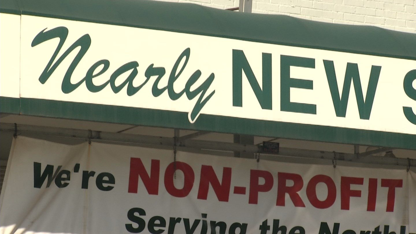 The Nearly New Thrift Shop has been a home away from home for assistant manager Tammy Graham the last 18 years. (KCTV5)