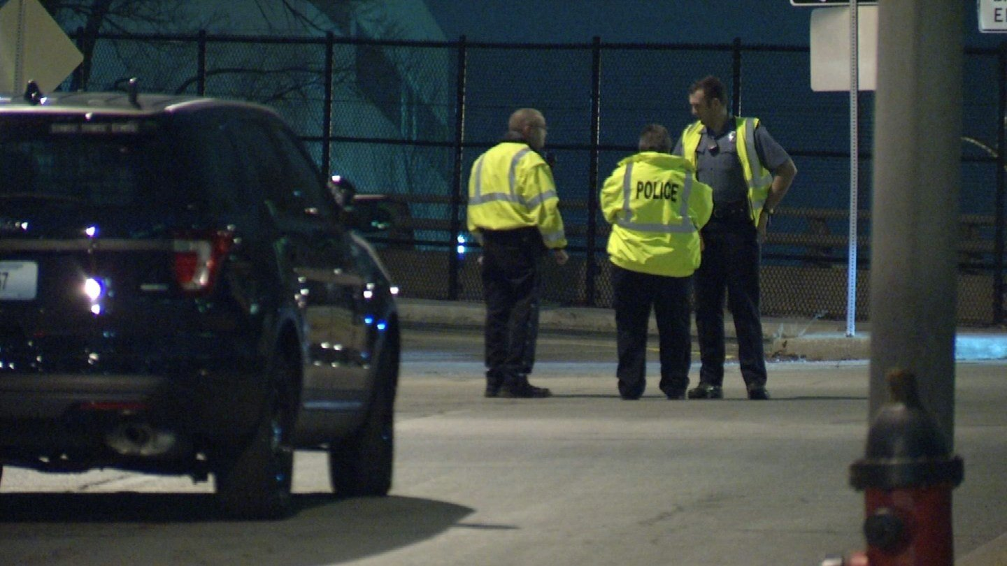 A motorcyclist is dead following a wreck Tuesday evening at 14th Street and Pennsylvania Avenue. (KCTV5)